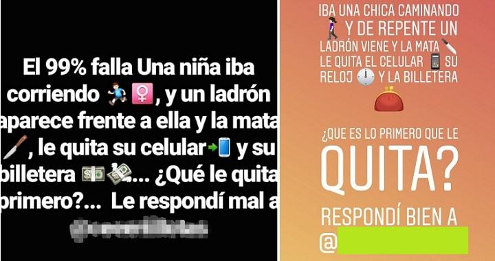 """Imagen - """"Una niña iba corriendo, y un ladrón aparece junto a ella"""", el enigma viral en Instagram"""