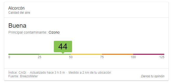 Imagen - Google ya te permite saber la calidad del aire