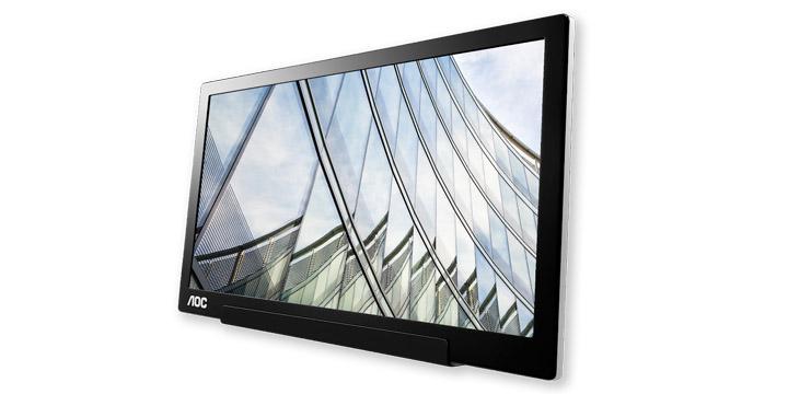 AOC I1601FWUX, un monitor externo para portátiles que se conecta por USB-C