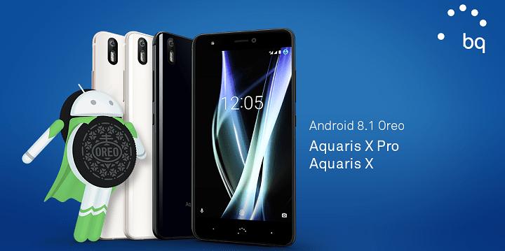 Imagen - BQ Aquaris X y Aquaris X Pro se actualizan a Android 8.1 Oreo