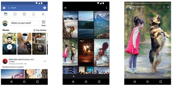 Imagen - Facebook añade publicaciones de voz, espacio para fotos y vídeos en la nube y más