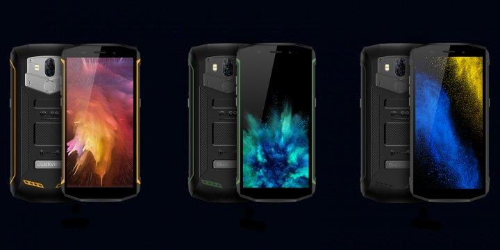Imagen - Blackview BV5800 Pro, un smartphone rugerizado con cámara dual y carga inalámbrica
