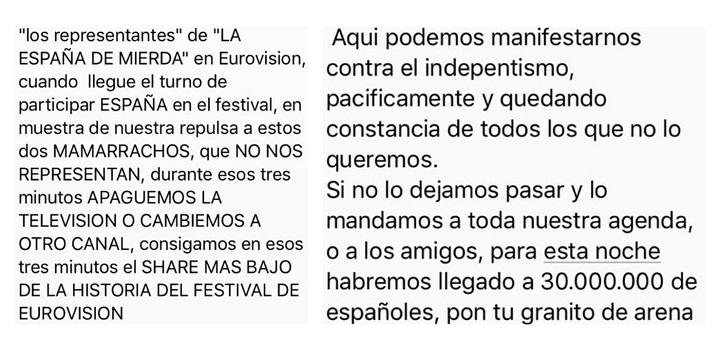 Imagen - Una cadena de WhatsApp pide el boicot a la actuación de Alfred y Amaia en Eurovisión
