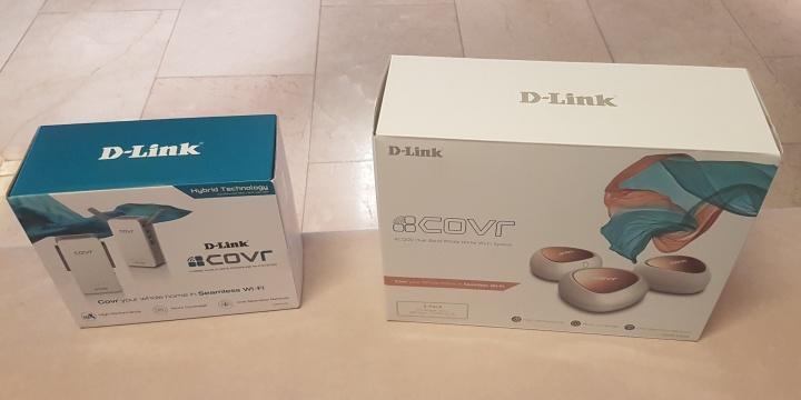 D-Link Covr, Wi-Fi mesh para todo el hogar mediante amplificadores y PLC