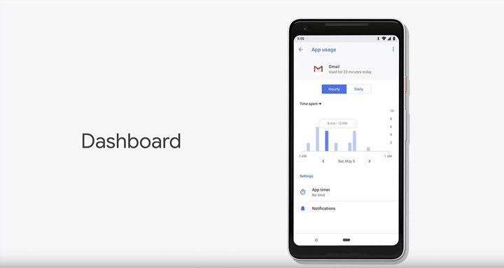 Imagen - Las novedades de Android P: nuevo sistema de navegación, control de tiempo de apps y más