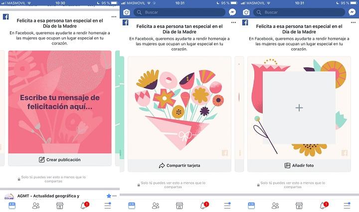 Imagen - Facebook festeja el Día de la Madre con marcos, tarjetas de felicitación y más