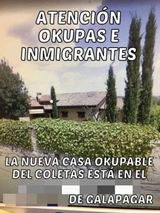 Imagen - Difunden la dirección de la casa de Pablo Iglesias e Irene Montero por WhatsApp