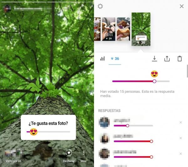 Imagen - Instagram Stories añade los emoji sliders, encuestas deslizantes con emojis