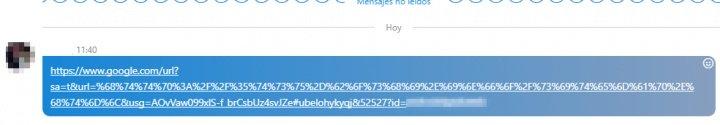 """Imagen - Cuidado con el enlace de """"El Método Español"""" que circula en Skype"""