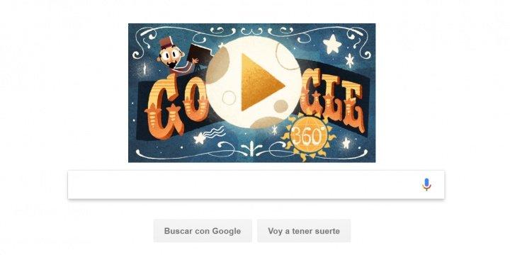 Imagen - Google dedica un Doodle en 360° al mago y cineasta Georges Méliès