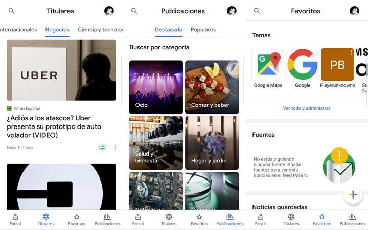 Imagen - Descarga ya Google News: la nueva app de noticias basada en Material Design 2.0