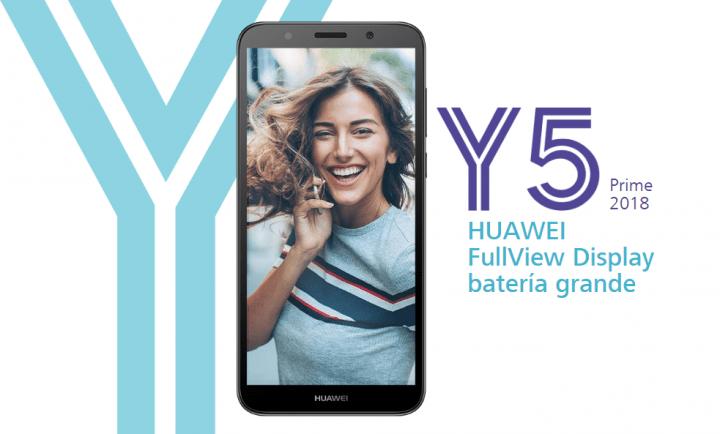 Imagen - Huawei Y5 Prime 2018, un smartphone de entrada con pantalla FullView y desbloqueo facial