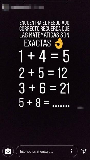 """Imagen - """"Encuentra el resultado correcto"""", el nuevo reto matemático que verás en Instagram Stories"""