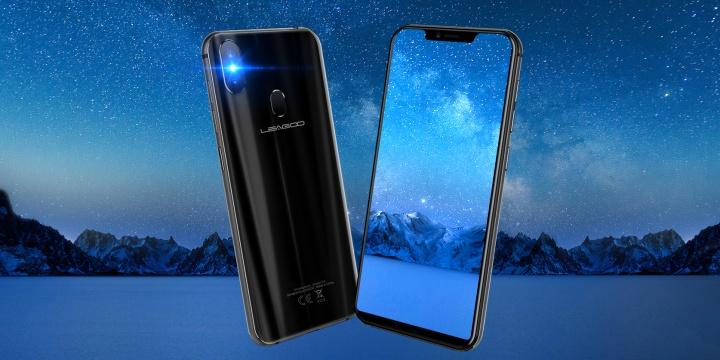 Leagoo S9, un smartphone Android con notch que saca fotos de 65 megapíxeles