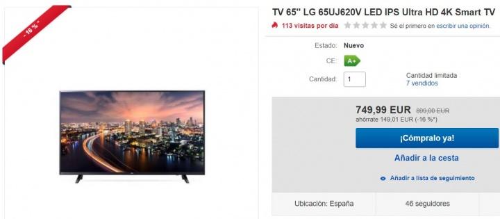 Imagen - 7 ofertas en televisores para ver el Mundial