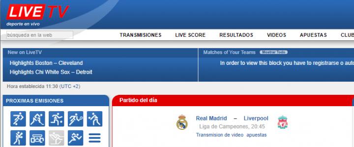 Imagen - Cómo ver online el Real Madrid - Liverpool, la final de la Champions League 2018