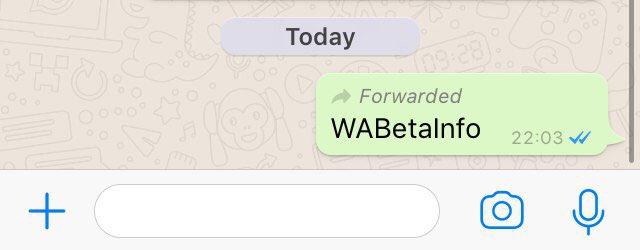 Imagen - WhatsApp avisará si se reenvía un mensaje