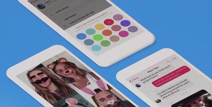 Imagen - Facebook Messenger estrena un diseño más sencillo, rápido y con tema oscuro