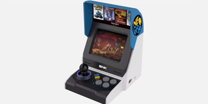 Neo Geo Mini, la consola vuelve como una recreativa doméstica con pantalla
