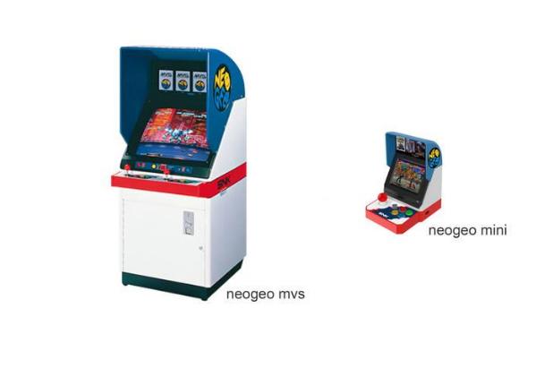 Imagen - Neo Geo Mini, la consola vuelve como una recreativa doméstica con pantalla