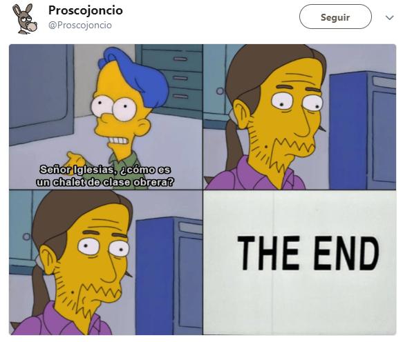 Imagen - Los mejores memes del chalet de Pablo Iglesias e Irene Montero