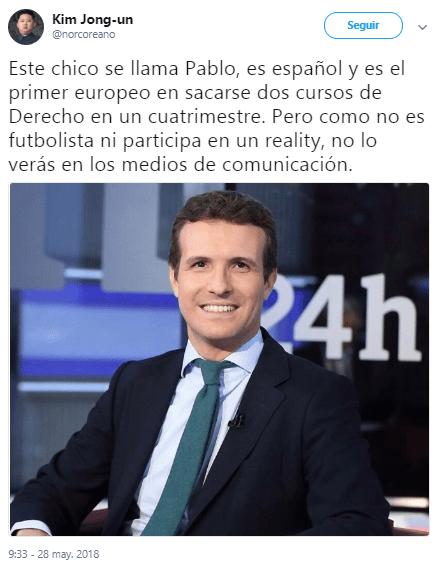 """Imagen - """"Como no es youtuber ni futbolista no lo verás en la tele"""", la parodia viral en Twitter"""