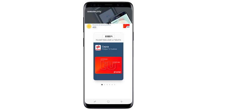 Samsung Pay ya soporta la tarjeta de las gasolineras Cepsa