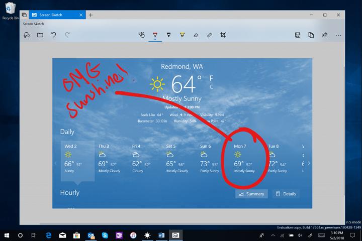 Imagen - Windows 10 mejorará las capturas de pantalla con recortes rápidos