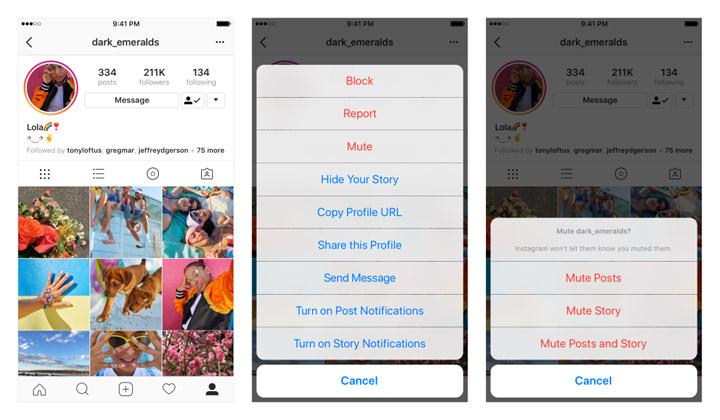 Imagen - Instagram ya permite silenciar cuentas