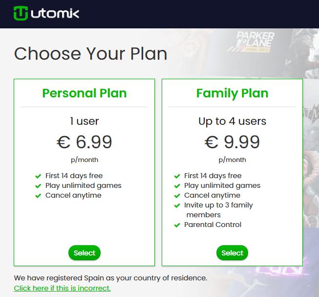 Imagen - Utomik, tarifa plana de videojuegos al estilo Netflix por 6,99 euros
