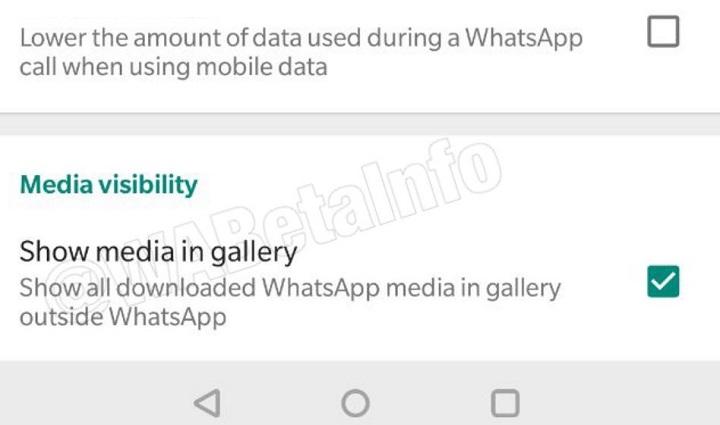 Imagen - WhatsApp nos dejará ocultar los vídeos y fotos de la galería