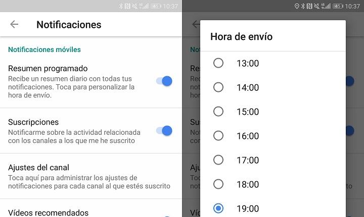 Imagen - YouTube se actualiza: recordatorios para descansar, resumen de notificaciones y más