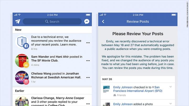 Imagen - Un error filtra los mensajes privados de 14 millones de usuarios en Facebook