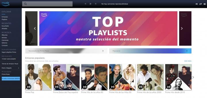 Imagen - Prime Music, una alternativa a Spotify, ahora se incluye gratis en Amazon Prime