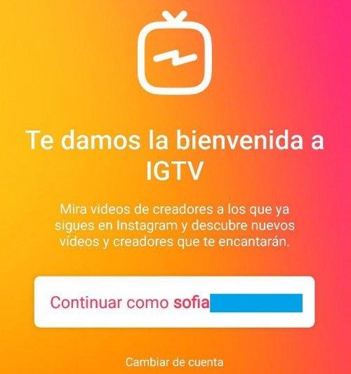 Imagen - Cómo crear un canal en IGTV