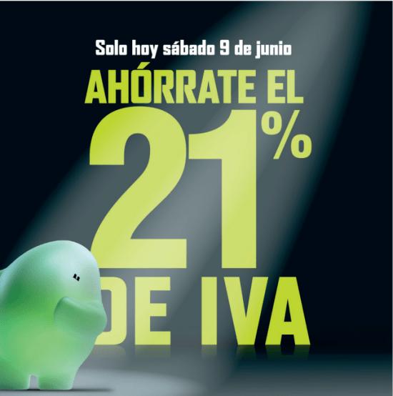 Imagen - El Corte Inglés e Hipercor celebran su Día sin IVA 2018