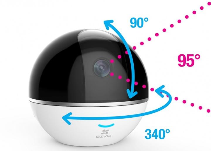 Imagen - Ezviz C6T y Alarm Hub Kit, una cámara 360º y un pack de sensores para controlar el hogar