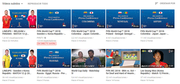 Imagen - Cómo ver los resúmenes del Mundial 2018
