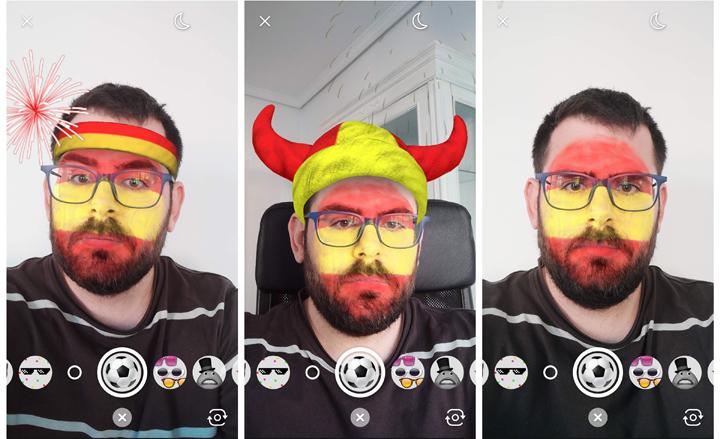 Imagen - Facebook Messenger nos deja dar toques con Sergio Ramos en realidad aumentada