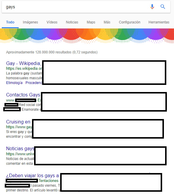 """Imagen - Las búsquedas """"gays"""", """"lesbianas"""", """"rubios"""", """"rubias"""" y más generan polémicas"""
