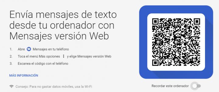 Imagen - Google va a por WhatsApp con los Mensajes en la web