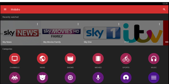 Mobdro, la app para ver películas, series y fútbol gratis