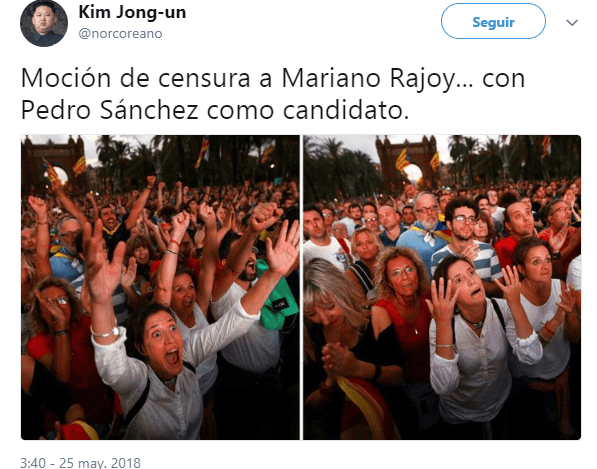 Imagen - Los mejores memes de la moción de censura a Mariano Rajoy