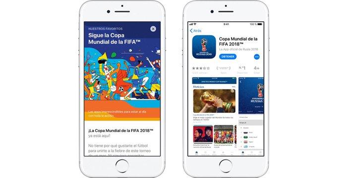 5 apps para seguir el Mundial de fútbol 2018 en el iPad y el iPhone