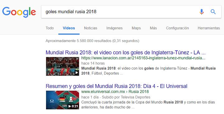Imagen - Cómo ver los goles del Mundial 2018 de Rusia