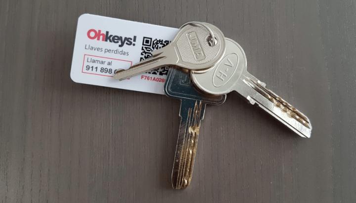 Imagen - Ohkeys!, la app que soluciona la pérdida de llaves en menos de una hora