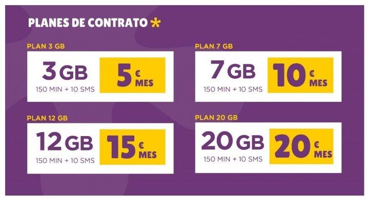 Imagen - Llamaya mejora sus tarifas: más minutos y más gigas sin cobrar exceso de datos