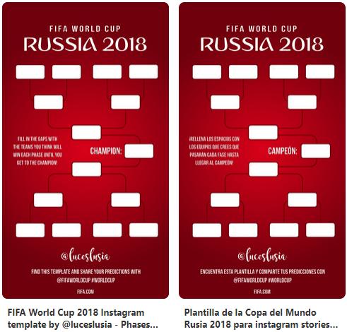 Imagen - Descarga las plantillas del Mundial de Rusia 2018 para Instagram Stories