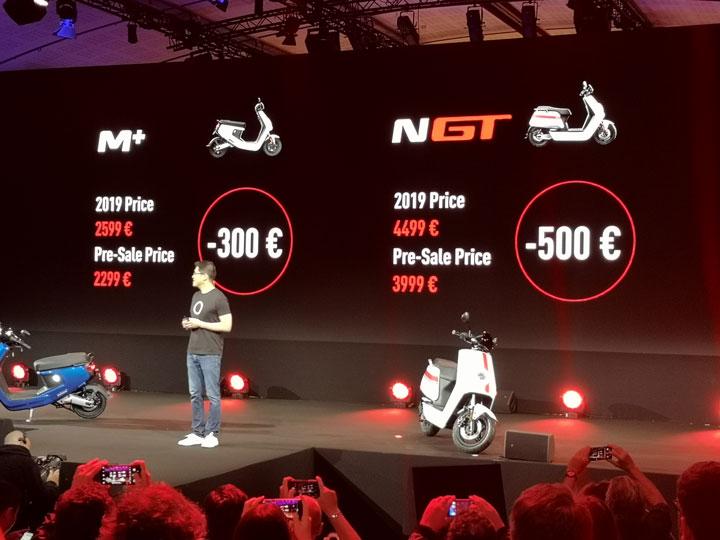 Imagen - NIU N-GT y M+, los scooters eléctricos conectados al smartphone