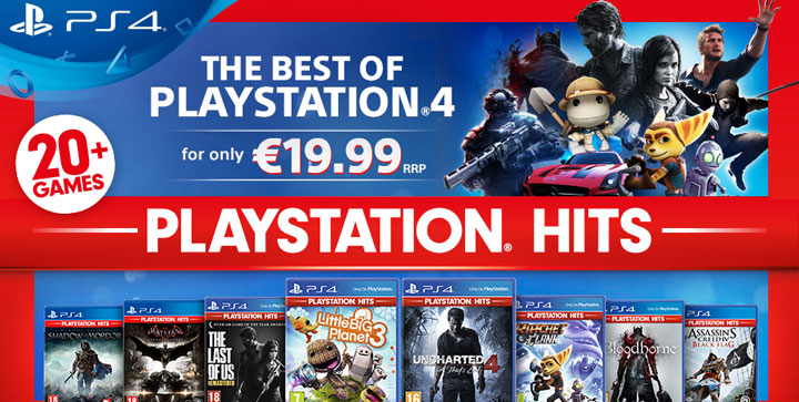 PlayStation Hits, los mejores juegos de PlayStation 4 por menos de 20 euros